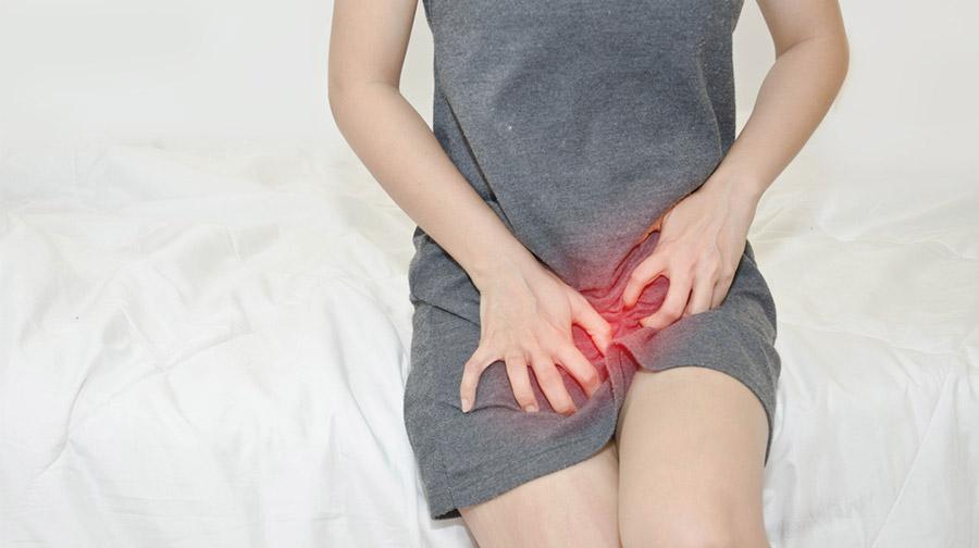 Een schimmelinfectie bij vrouwen